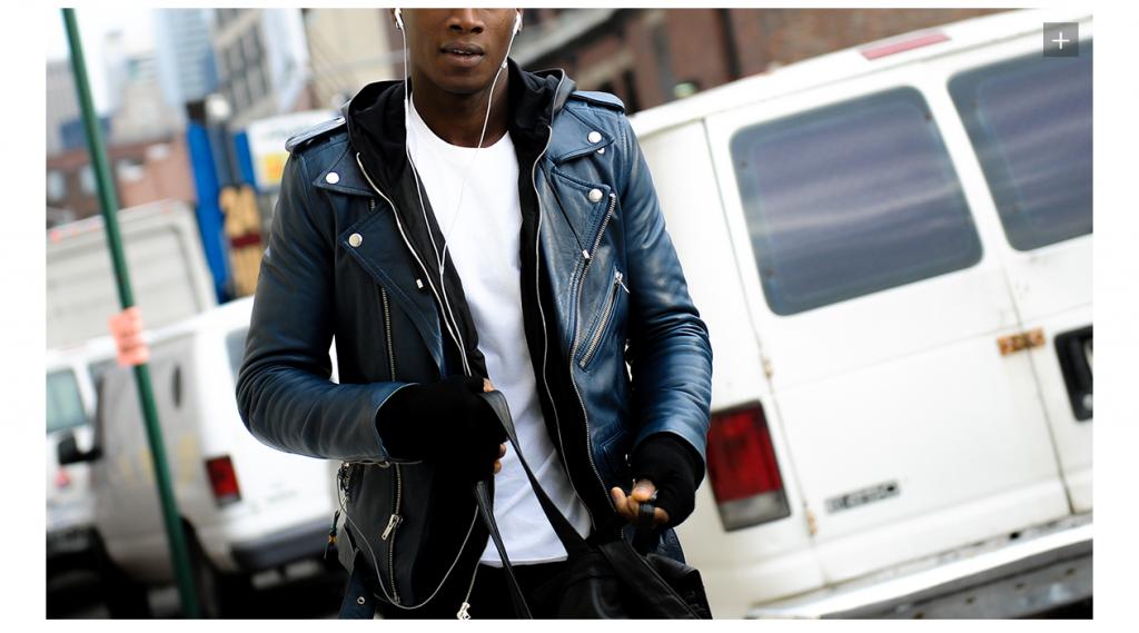 racer style jacket