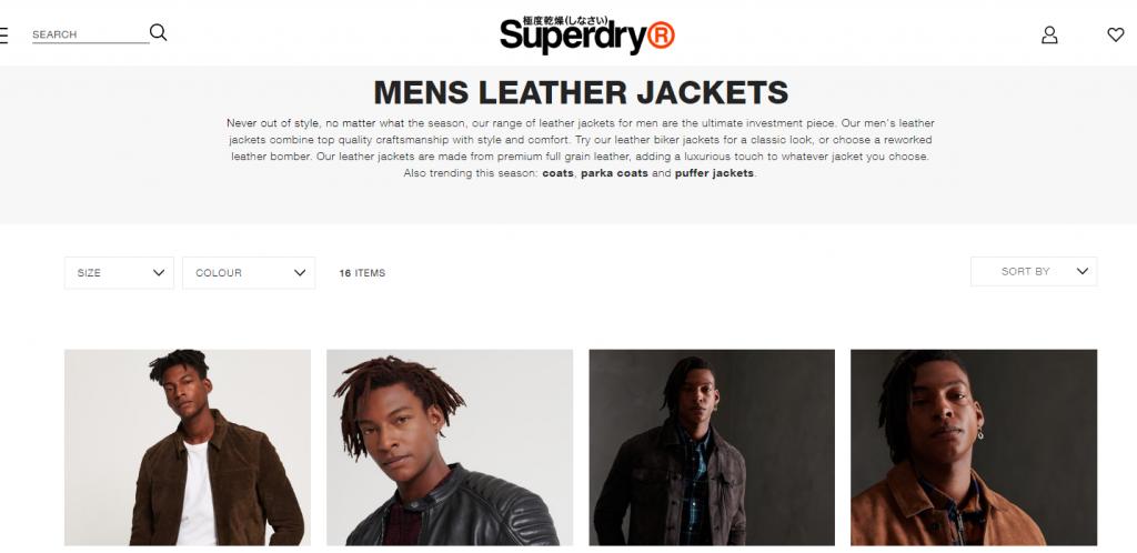 superdry website