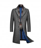 Mens Wool Topcoat