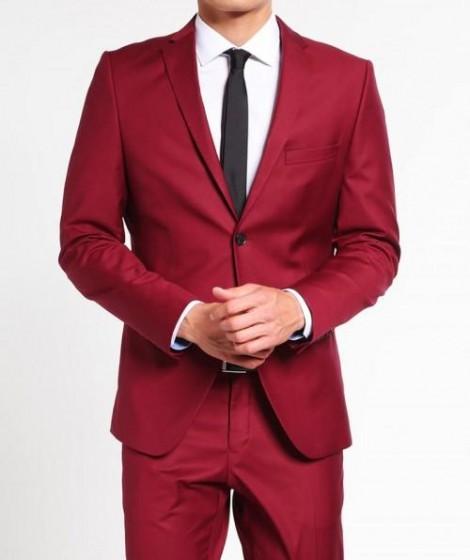Notch Lapel Mens Suit
