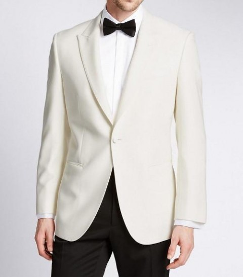 Mens Wide Peak Lapel Jacket