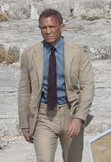James Bond Beige Suit