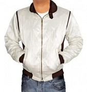 scorpion white bomber jacket