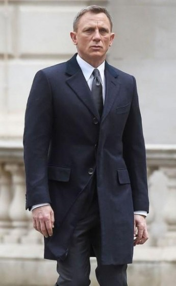 Blue James Bond Coat
