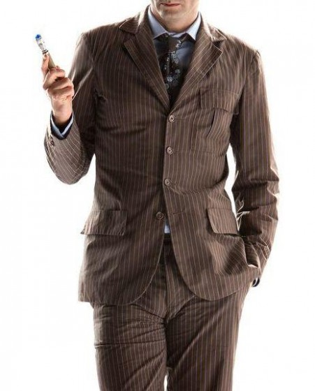 Doctor Who Brown Suit