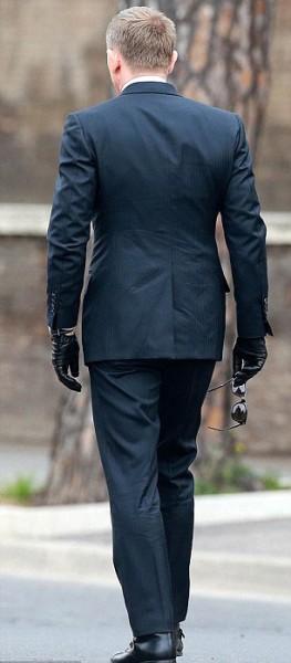James Bond Spectre Navy Blue 3 Piece Suit