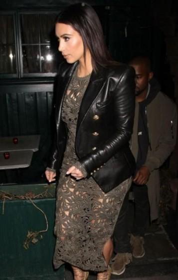 kim kardashian double breasted jacket