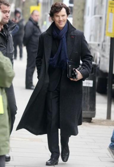 Benedict Cumberbatch Sherlock Trench Coat